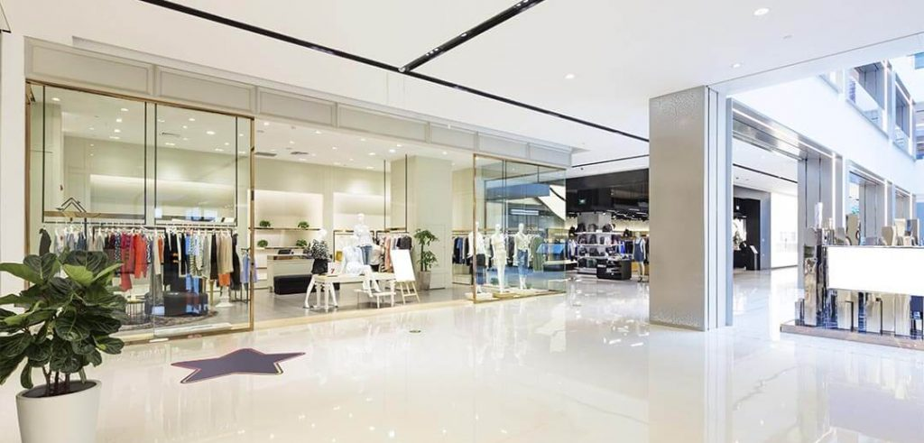 tiendas de ropa centro comercial